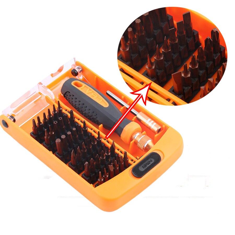 Kraftvoll Präzision Jm-8109 Schraubendreher Set 38 In 1 Reparatur Handy Werkzeug Schraubenzieher Bits Für Iphone Ipad Opod Smart-handys