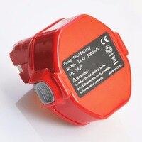 2 шт 14,4 V ni-mh аккумулятор 3.0ah для makita аккумуляторные электродрель отвертка 6233D 6237D 6281D 6333D 6337D 6381D
