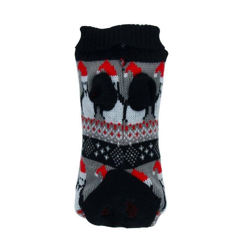 Pet Turtleneck Sweater Clothes Puppy Dog Knitwear Coat Dog Pet Clothes Snowmen
