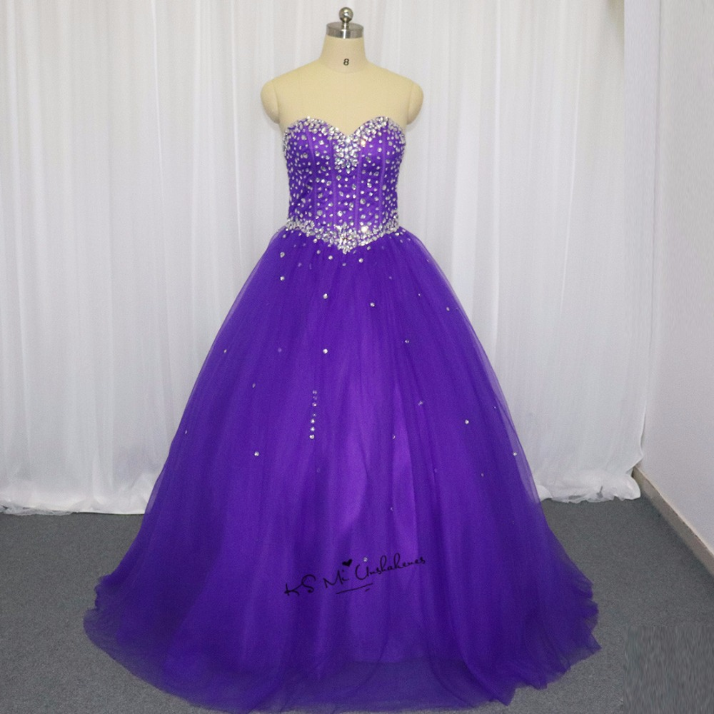 40a55dbaebd Detail Feedback Questions about Vestidos de 15 Anos Purple Quinceanera  Dresses 2018 Ball Gown Sweet 16 Dresses Girls Cheap Quinceanera Gowns Plus  Size Real ...