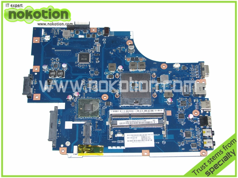 MBWJU02001 LA-5892P laptop motherboard for acer 5741 gateway nv59c HM55 GMA HD DDR3 Mainboard