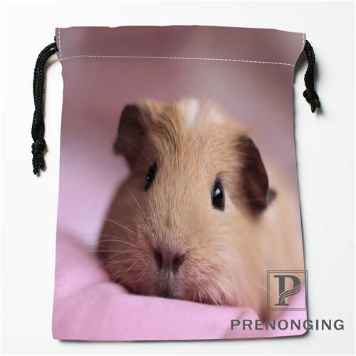Custom Hamster Dog Drawstring Bags Printing Fashion Travel Storage Mini Pouch Swim Hiking Toy Bag Size 18x22cm #171203@2-07