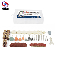 RIJILEI 105Pcs BIT SET SUIT MINI DRILL ROTARY TOOL & FIT DREMEL Grinding,Carving,Polishing tool sets,grinder head Abrasive Disc