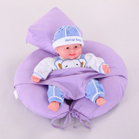 ให้นมบุตรพยาบาลหมอนเบาะทารกให้อาหารทารกแรก