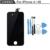 100% garantía de ningún pixel muerto reemplazo de pantalla lcd para el iphone 4s pantalla con pantalla táctil digitalizador asamblea completa