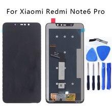 """6.26 """"oryginalny wyświetlacz dla Xiaomi Redmi Note 6 Pro wyświetlacz LCD ekran dotykowy digitizer zgromadzenie dla Redmi Note 6 Pro części telefonu"""