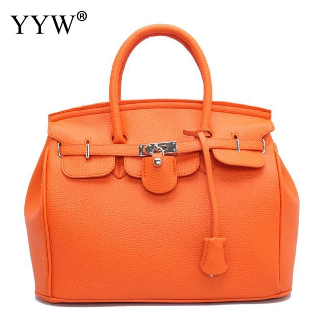 1efc4eae1243 PU Leather Handle Bags luxury designer handbags high quality famous brand  Fashion Women Big Bags Solid
