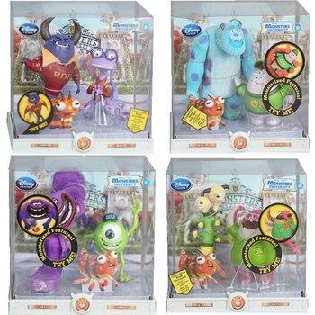 цена Disney Pixar Monsters University Monsters Inc James P. Sullivan Mike Wazowski Action Figures Anime Model Toys For Children Gift онлайн в 2017 году