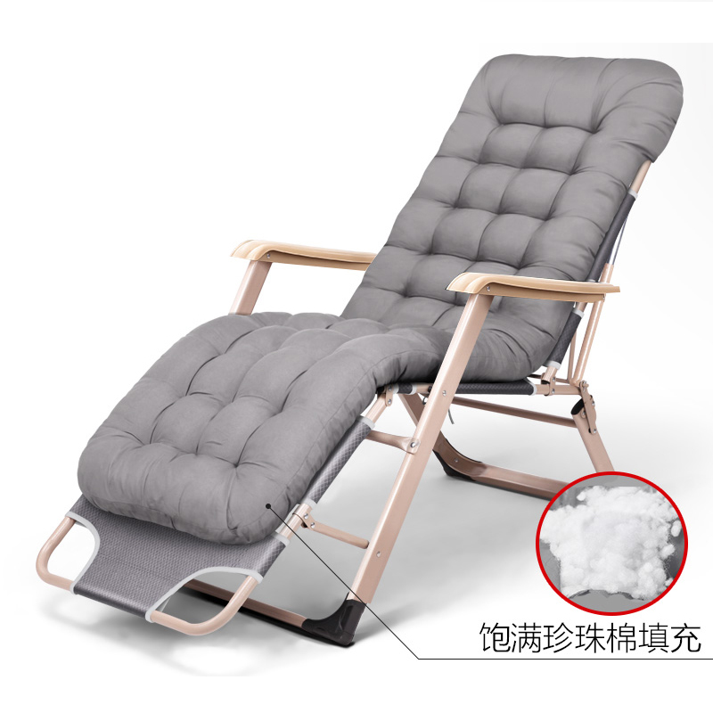 new outdoor or indoor adjustable nap recliner chair folding deck chair beach chair with steel - Outdoor Recliner Chair