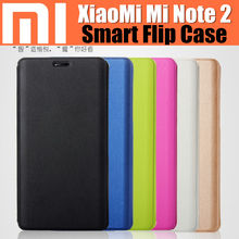 xiaomi mi note 2 case original catman brand luxury PU leather basd on magnetic smart flip cover auto wake-up/ sleep for mi note2