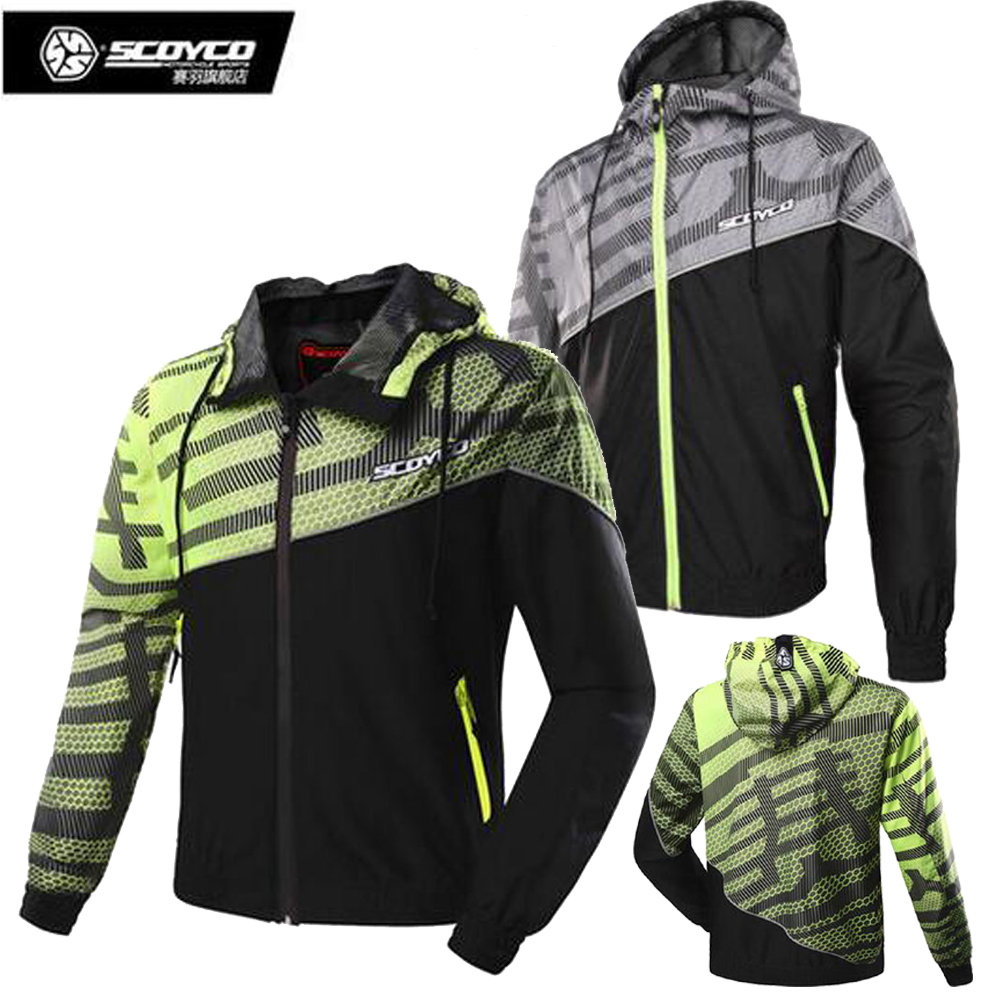 SCOYCO Men Motorcycle Waterproof Riding Clothing Jackets Casual Jacket Locomotive Motorbike Racing jacket scoyco motorcycle jacket wearable leather windproof motorbike suit drop resistance motocross racing clothing protection jackets