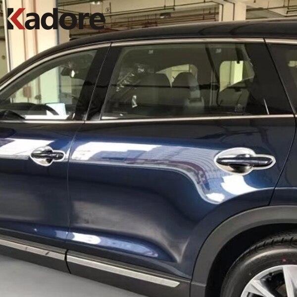 For Volkswagen VW Atlas Teramont 2017 2018 Door Handle Protective Cover 2 holes