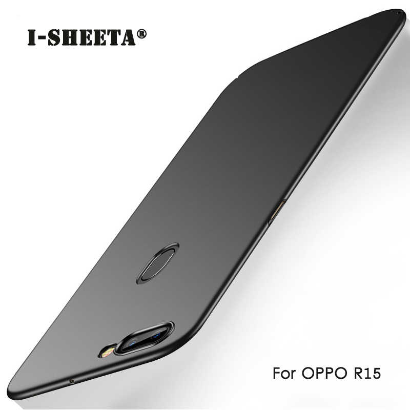 Shockproof Ultra Thin Hard Matte Case For OPPO R15 Dream Mirror Cover Protection For OPPO Find X A3 A5 F5 F7 R11 R11S Plus Cases