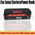 12V Petrol Diesel Multi-Function 12000mAh Car Jump Starter 600A Peak Car Battery Charger 4USB Power Bank SOS Lights Free Ship