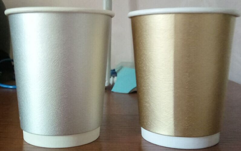 Customized Logo Paper Cup Printed Styrofoam Cups Double Wall     Webstaurant Store