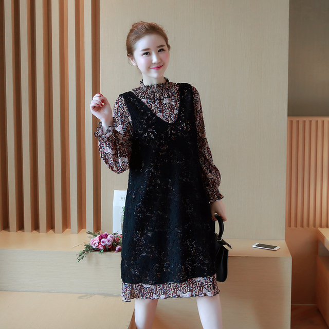 Long sleeve pregnancy cute clothes fancy summer dresses casual ...