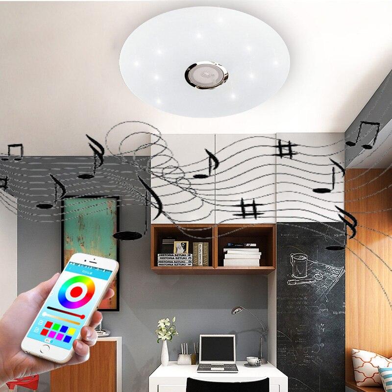inteligente bluetooth luz de teto led moderno 02