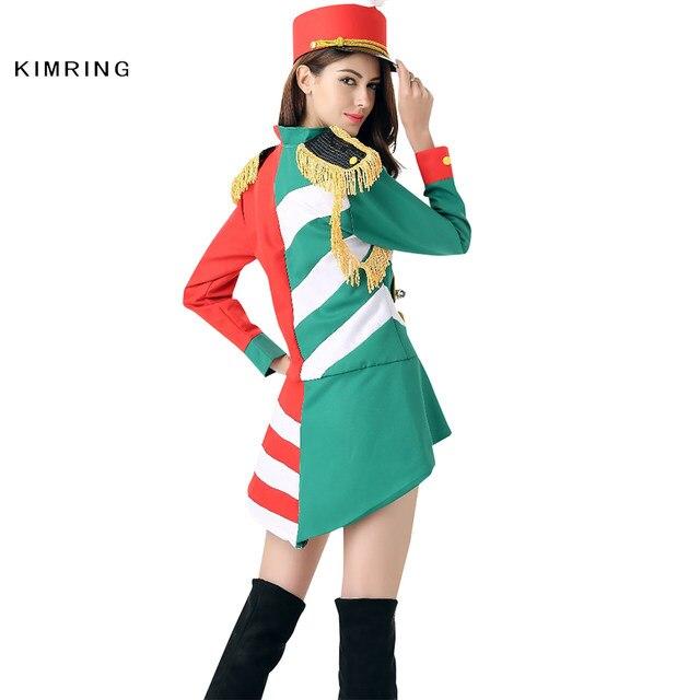 Kimring Fashion Majorette Costume Adult Women Soldier Heroine Fancy Dress Party Halloween Costume Cosplay  sc 1 st  Aliexpress & Online Shop Kimring Fashion Majorette Costume Adult Women Soldier ...
