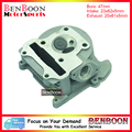 GY6 80cc 47mm Scooter Big Bore Cylinder Head with Big Valves for 4T Chinese Moped Scooters, ATV Znen, Baotian, UM Free Shipping
