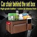 Couro do assento de carro de volta saco de assento saco pendurado saco de armazenamento de carro saco de carro suprimentos de carro