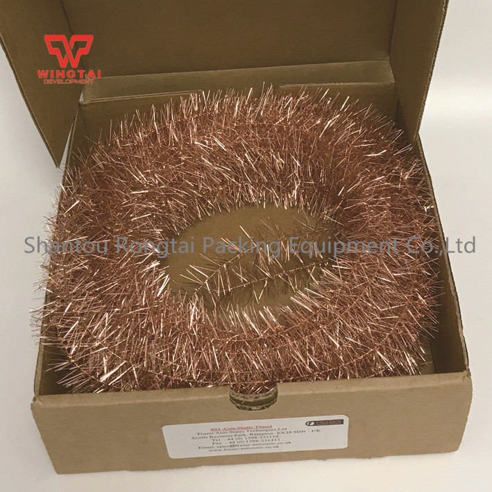UK FRASER 801 Copper Antistatic Tinsel For Fabric or Strip Application 22m per Box m fraser fraser moped maintenance and repair paper only