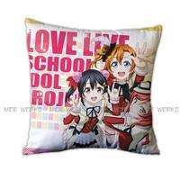 Love Live Throw Pillows Case Nico Yazawa Bed Decorative Pillow Kotori Minami Pillow Case Cover