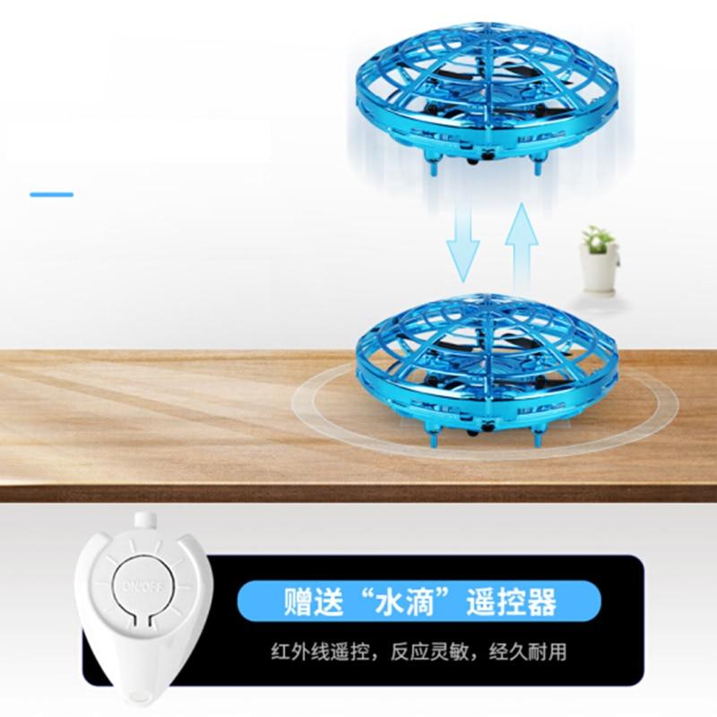 Mini Drone UFO helicóptero de juguete volador 8