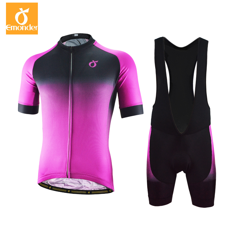 HOt Summer Cycling Jersey Short Sleeve Set Men Pro Team Mountain Road Bike Clothing Breathable Bicycle Jerseys Clothes 4 Styles 176 top quality hot cycling jerseys red lotus summer cycling jersey 2017s anti uv female adequate quality sleeve cycling clothin