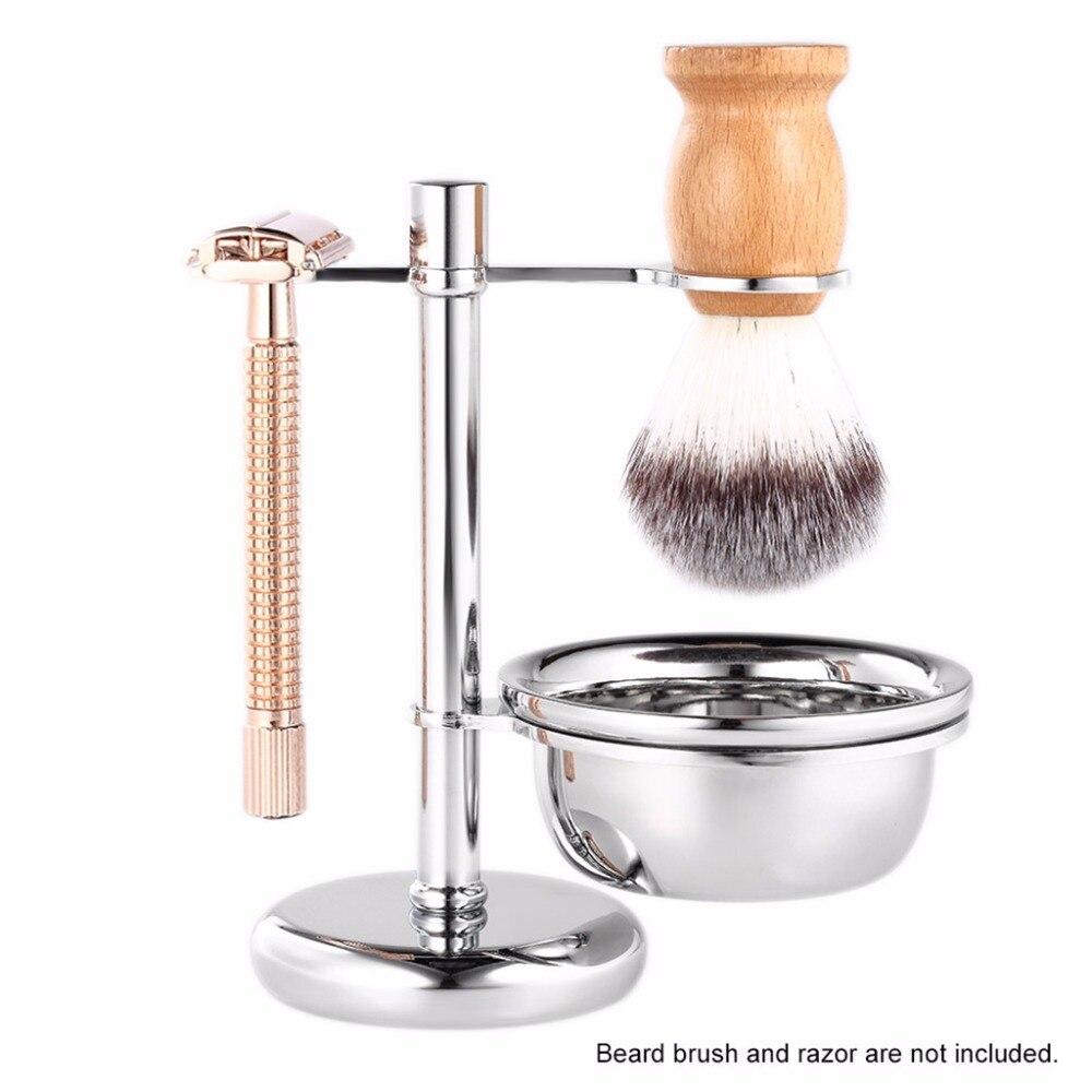 2 in1 de afeitado-afeitar cepillo soporte de afeitar la barba limpio taza  de máquina de Kits de alta calidad 1 Set - a.drshahidarafique.me 3ae69a153536