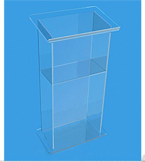 Clear Acrylic Lectern For Meeting Clear Perspex Rostrum Podium Lectern  Decoration Table Furniture Plexiglass