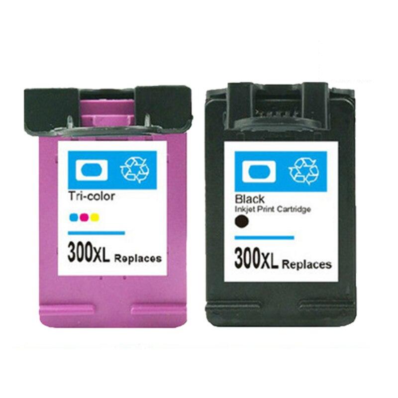 For HP 300 Ink cartridge For HP300 xl 300xl Deskjet F4500 F4580 F4583 F2420 F2480 F4210 F4272 F2483 Photosmart C4680 C4683 C4780 2pcs compatible ink cartridge hp121xl hp121 for deskjet f4210 f4213 f4240 f4272 f4275 f4280 f4283 f4288 f4500 f4580 f4583