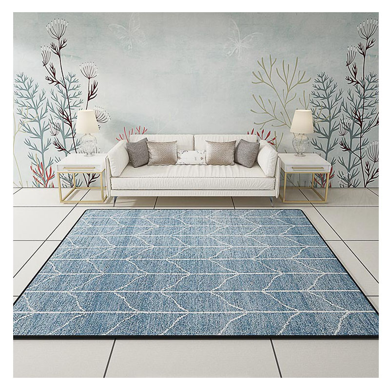 Turn your living room into a lovely space that's relaxing yet functional by selecting the right lighting. Modern Carpets for living room Rectangle Geometric Area ...