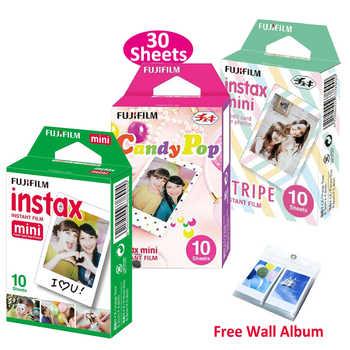 Genuine Fujifilm Instax Mini Film Stripe + Candy Pop + White Film 3 Packs For Fuji Instant Mini 8 9 70 90 25 Camera SP-1 SP-2 - DISCOUNT ITEM  30 OFF Consumer Electronics