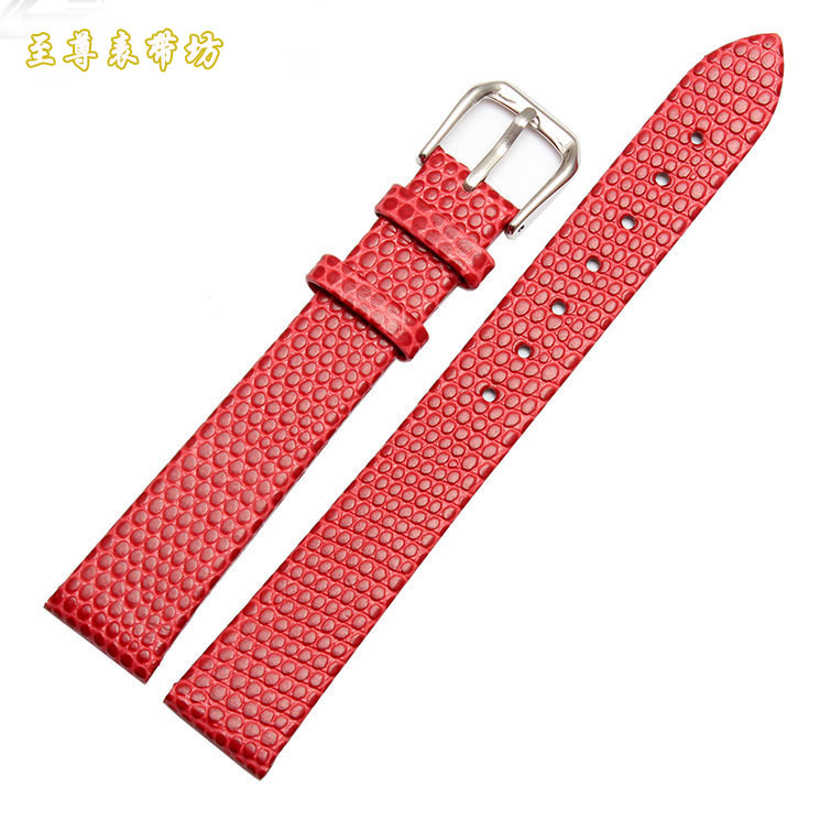 Watchband wholesale Price !12 14 16 mm Leather Watch Band Red Strap Bracelet Stylish lady Quartz Watch band Dress watch belt lvpai women s casual quartz bracelet watch analog wrist watch relogio feminino women watches reloj mujer bayan kol saati relogio