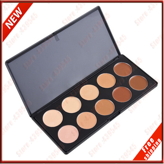 Personal Best Makeup 10 color Concealer Contour face Cream Eyeshadow blush Bronzer Camouflage Makeup Eyebrow Palette