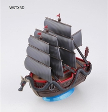WSTXBD Original One Piece OP Luffy Dragon Ship PVC Figure Brinquedos Toys Figurals Dolls Vol.09