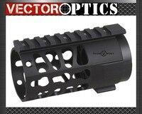 Vector Optics Tactique KEYMOD 4 pouce Free Float Handguard Picatinny Rail Mount Système fit Réel AR Pistolet