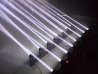 2 XLOT 4 глав 80 Вт светодиодный мини перемещения Луча головы бар света профессиональный этап DJ контроллер DMX освещения Disco проектор стробоскопы