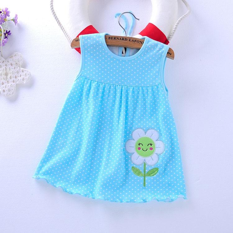 Baby Girl Dress 2017 Summer Girls Dresses Style Infantile -6764