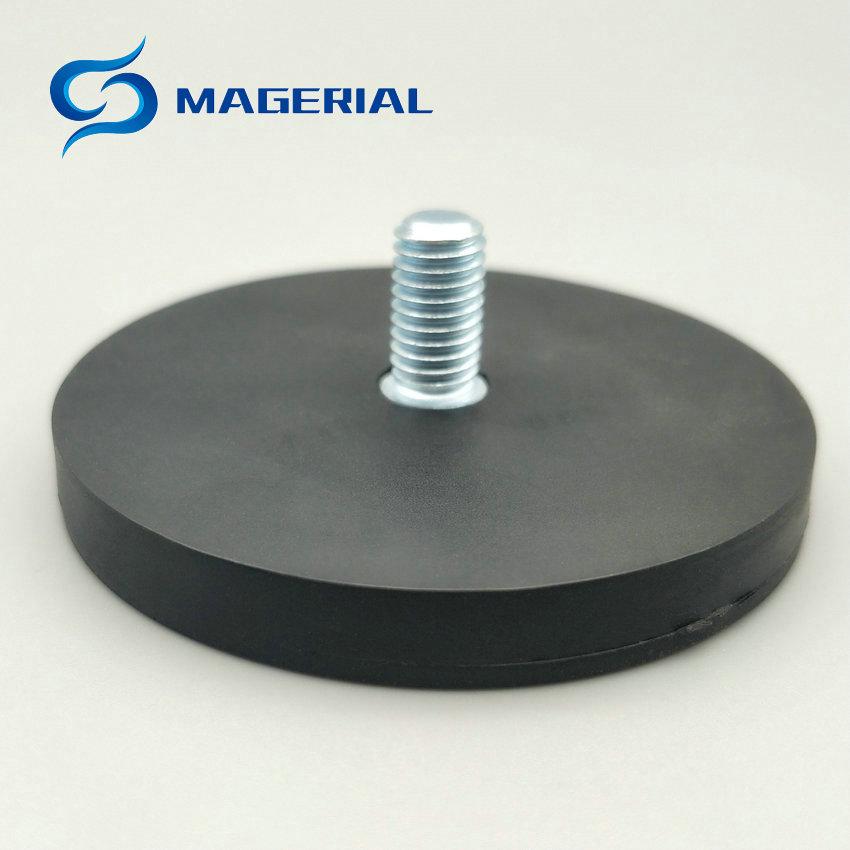 200pcs Mounting Magnetic Disc Diameter 66 mm LED Light Holding Spotlight Holder Male Thread NdFeB Magnet Strong Neodymium Magnet