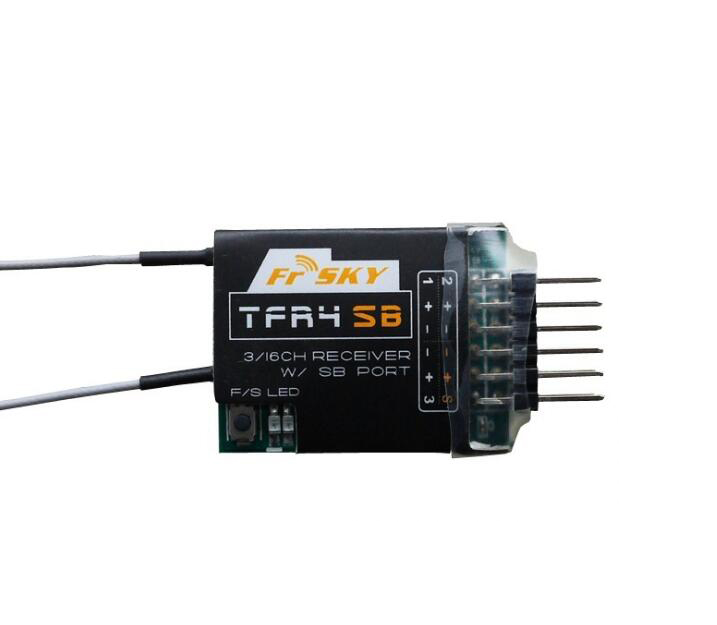 Free Shipping FrsKy 2.4GHz Futaba FASST S.BUS 4CH FPV Receiver TFR4SB frsky tfr6 tfr6 a 7ch 2 4g receiver compatible with futaba fasst frsky tfr6 t8fg 10cg 14sg tf module