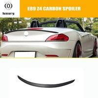 E89 z4 d estilo fibra de carbono spoiler traseiro para bmw e89 z4 2009-2014 estilo do carro de corrida automóvel cauda tronco tampa lábio asa