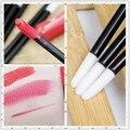 100PCS/set disposable lip stick unloading makeup Concealer Brush lipstick lip repair brush
