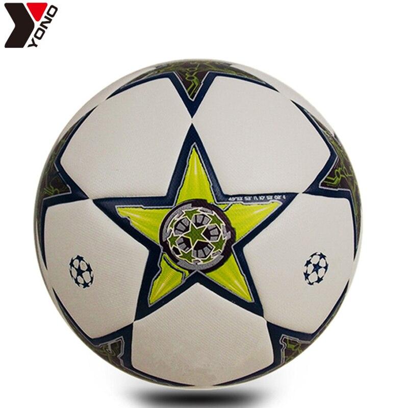 Football Size 5 PU Wear Resisting Granules Soccer Professional Match Trainning Football Balls Futbol Voetbal Bola De Futebol