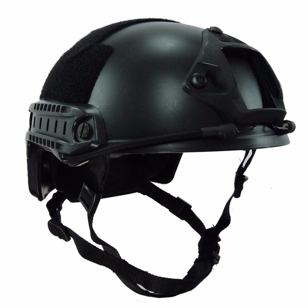 NIJ IIIA FAST Bulletproof balistiques casques US Army Casque aramide bulletproof casque Militaire avec ISO rapport