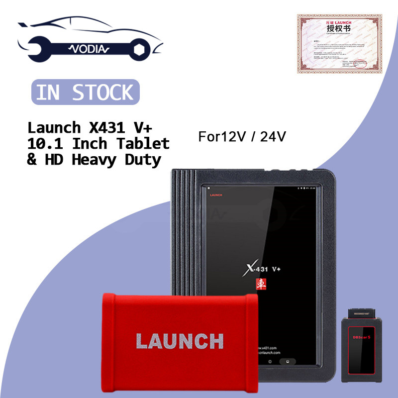 LAUNCH X431 HD Heavy Duty Module Adapter box 10.1 Pad PC for X-<font><b>431</b></font> V+ X431 <font><b>Pro3</b></font> pad II Cars full System Truck Diagnostic Tool image