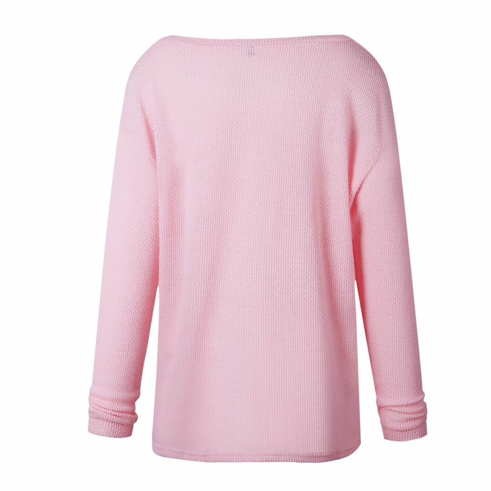 2021 New Plus Size Spring Autumn Knitting Casual Long Sleeve Solid Colors Sweater Loose Female Sweaters Fashion Women Clothing