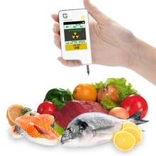 Greentest High Accuracy Read Digital Food Nitrate Tester,Meat Fruit Vegetable Seafood Radiation Detection (White) Health Care