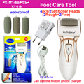 Golden charging cable +AD pedicure electric tools Foot Care Exfoliating Foot Care Tool  4Pcs roller pedicure heads KIMISKY +Box