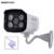 Hobovisin ip cámara 720 p/960 p/1080 p 4 unids p2p onvif matriz de led al aire libre caja de metal ip66 cámara de vigilancia de seguridad cctv full hd